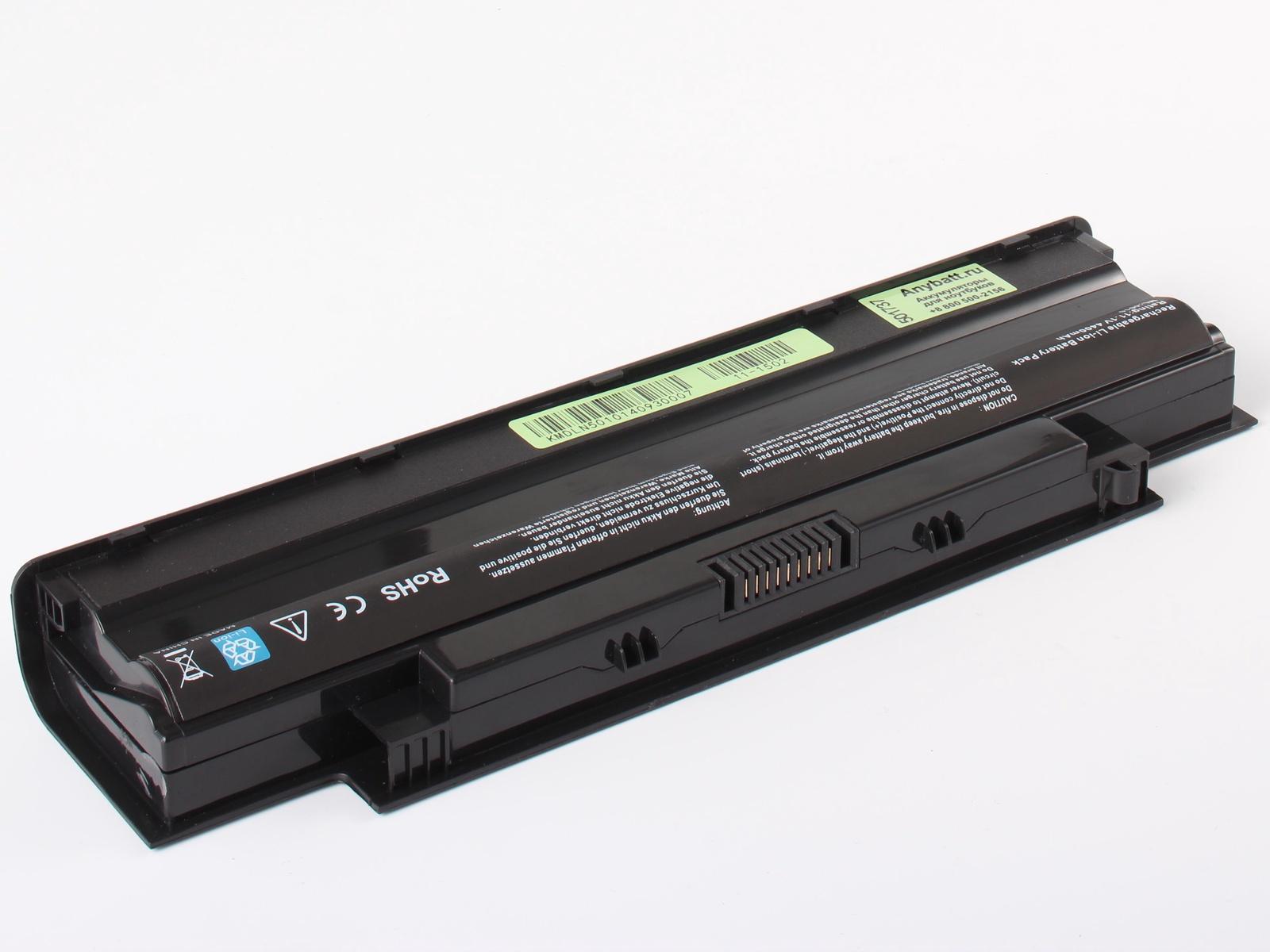 Фото - Аккумулятор для ноутбука AnyBatt Dell J1KND, 9T48V, J4XDH, JXFRP, 312-0233, 965Y7, 9TCXN, W7H3N, YXVK2, 4T7JN, 383CW, 312-0234, 451-11510 аккумуляторная батарея для ноутбуков dell primary 6 cell battery 60 whr для e5430 e5530 e6430 e6530 451 11977 t54fj