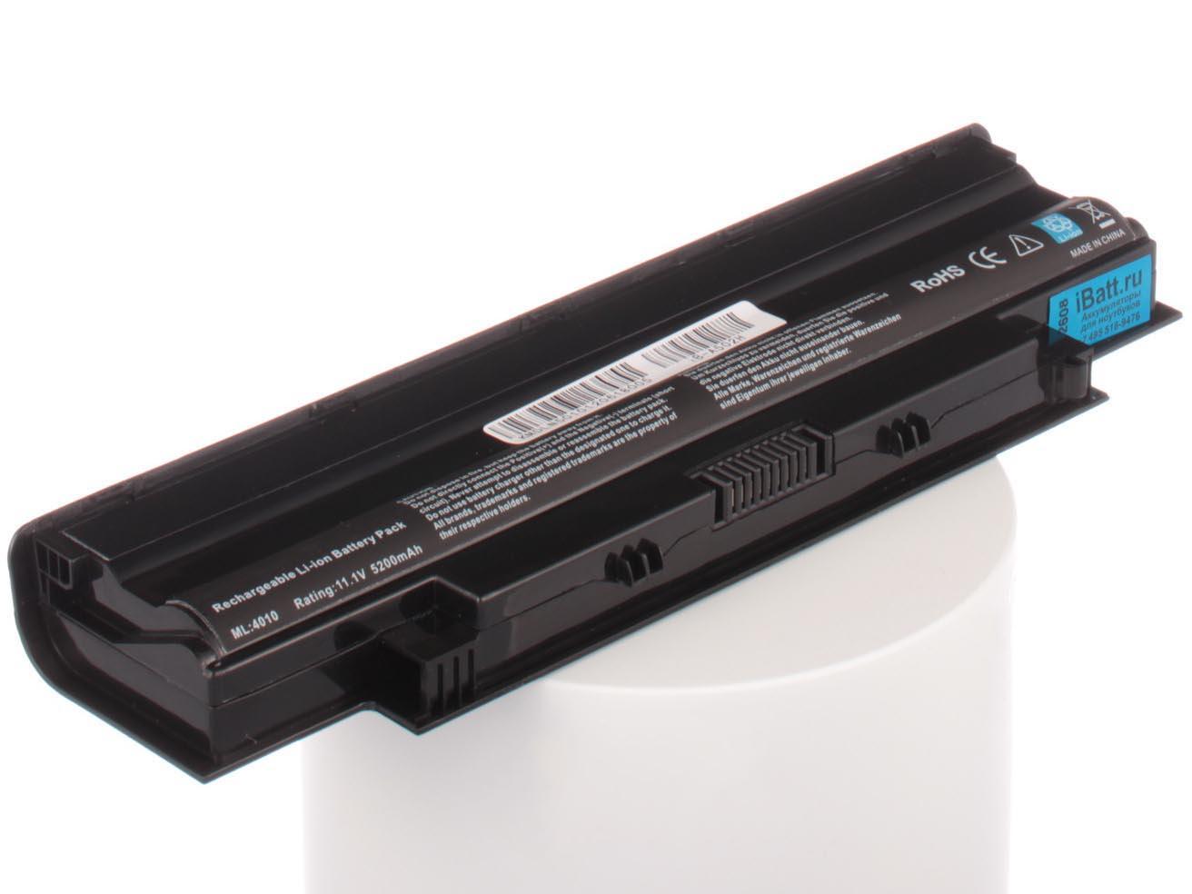 Фото - Аккумулятор для ноутбука iBatt для Dell Inspiron N4110, Inspiron 15R (N5010), Vostro 2500, Vostro 2520, Inspiron 3520-4331, Inspiron M5050, Inspiron 14R (N4010), Inspiron 17R (N7010), Inspiron N3110, Inspiron 15-3520 аккумулятор для ноутбука f287f r988h f287h f286h dell inspiron 1410 vostro a840 a860 vostro 1014 1015 1088 4400mah 10 8v