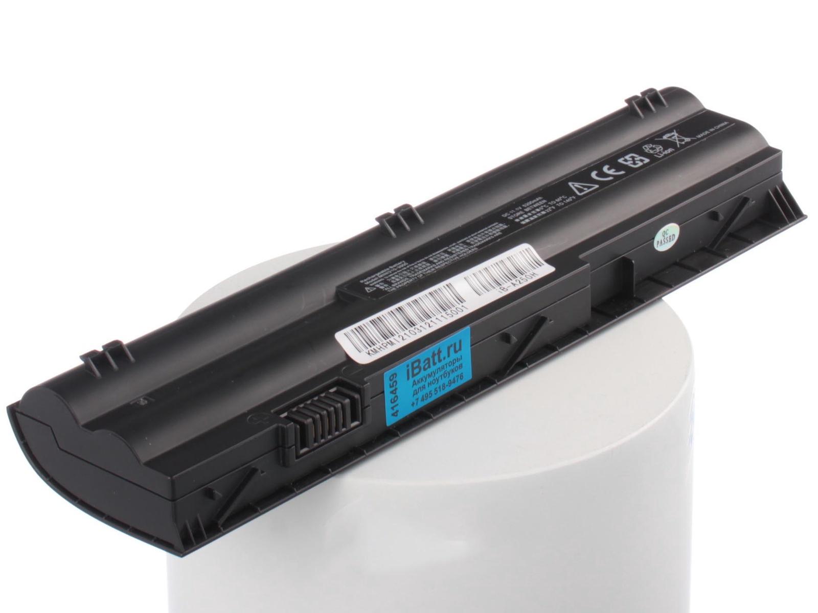 Аккумулятор для ноутбука iBatt для HP-Compaq Mini 210-3051er, Pavilion dm1-4000er, Mini 210-3052er, Mini 110-4101er, Pavilion dm1-4100er, Mini 210-3000er, Pavilion dm1-4001er, Mini 200-4251sr, Pavilion dm1-4300, Mini 210-3000 mini griptilian