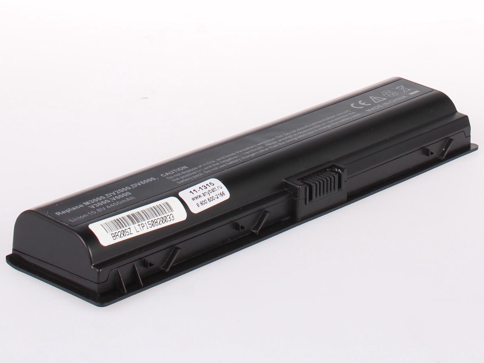 Аккумулятор для ноутбука AnyBatt для HP-Compaq Pavilion dv6825er, Pavilion dv2810er, Pavilion dv6102EA, Pavilion dv6899er, Pavilion dv6945er, Pavilion dv2530er, Pavilion dv2840er, Pavilion dv6127EA, Pavilion dv6510er hp pavilion 550 221ur t1g75ea