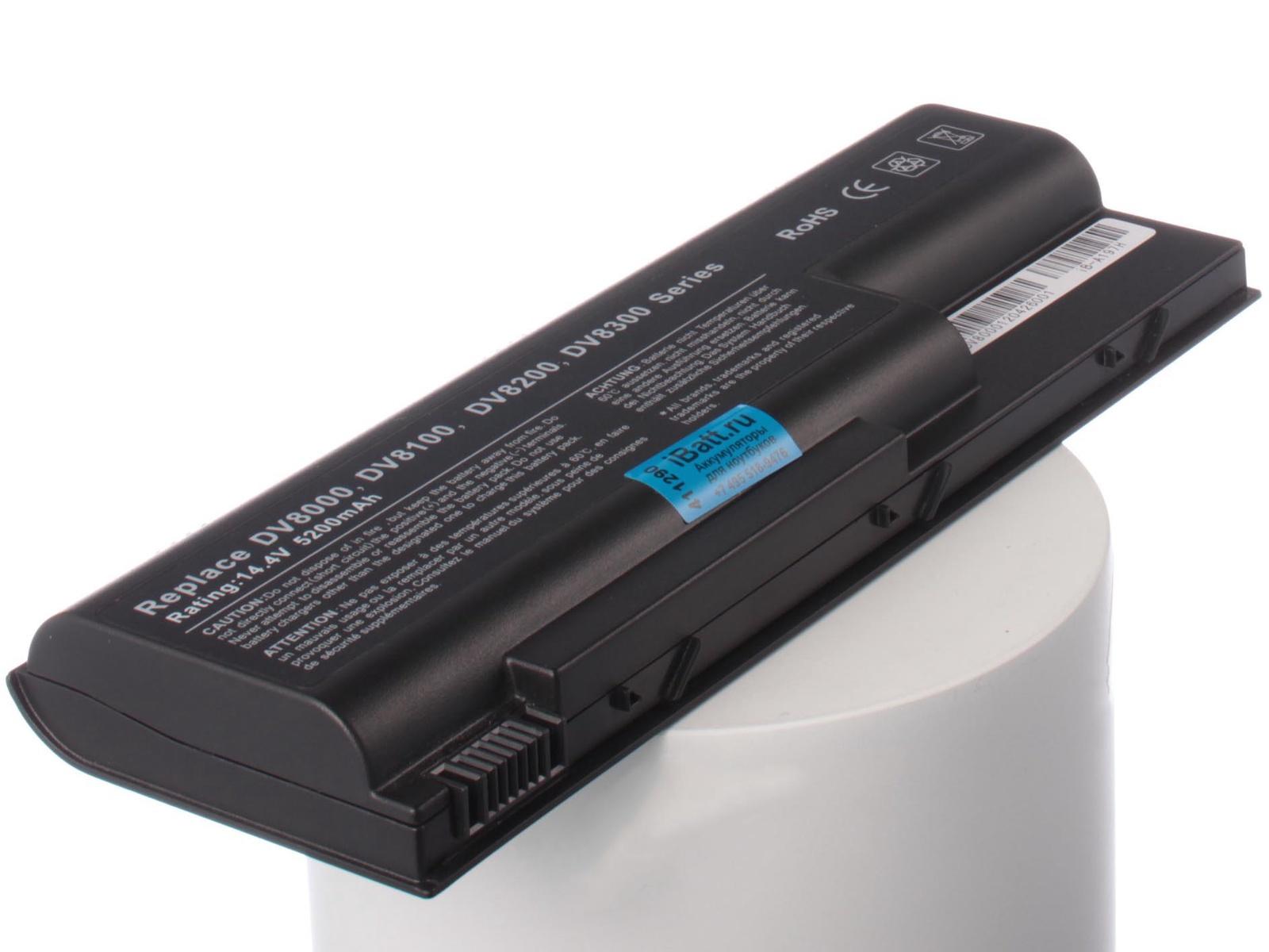 Аккумулятор для ноутбука iBatt HP-Compaq HSTNN-C16C, EG417AA компьютер compaq