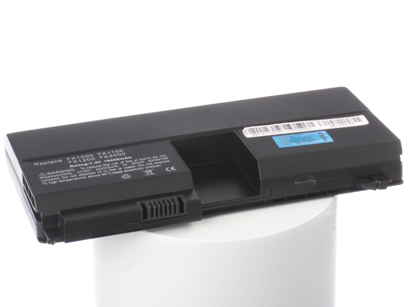Фото - Аккумулятор для ноутбука iBatt HP-Compaq HSTNN-UB76, HSTNN-OB37, 431325-321, RQ203AA, HSTNN-UB37, 437403-541 аккумулятор