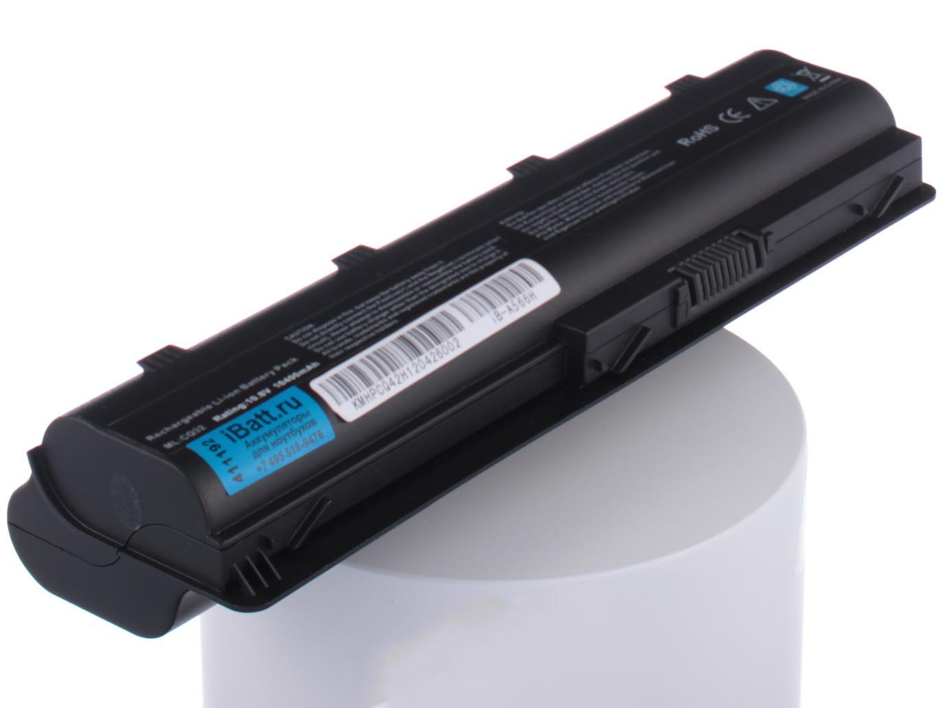 Аккумулятор для ноутбука iBatt для HP-Compaq Pavilion dv7-6b52er, Pavilion dv7-6b54er, Pavilion g6-2205sr, Pavilion g6-1259er, Pavilion g6-1124er, 2000-2d52SR, Pavilion g6-1109er, Pavilion g7-2256sr, G62-a82ER
