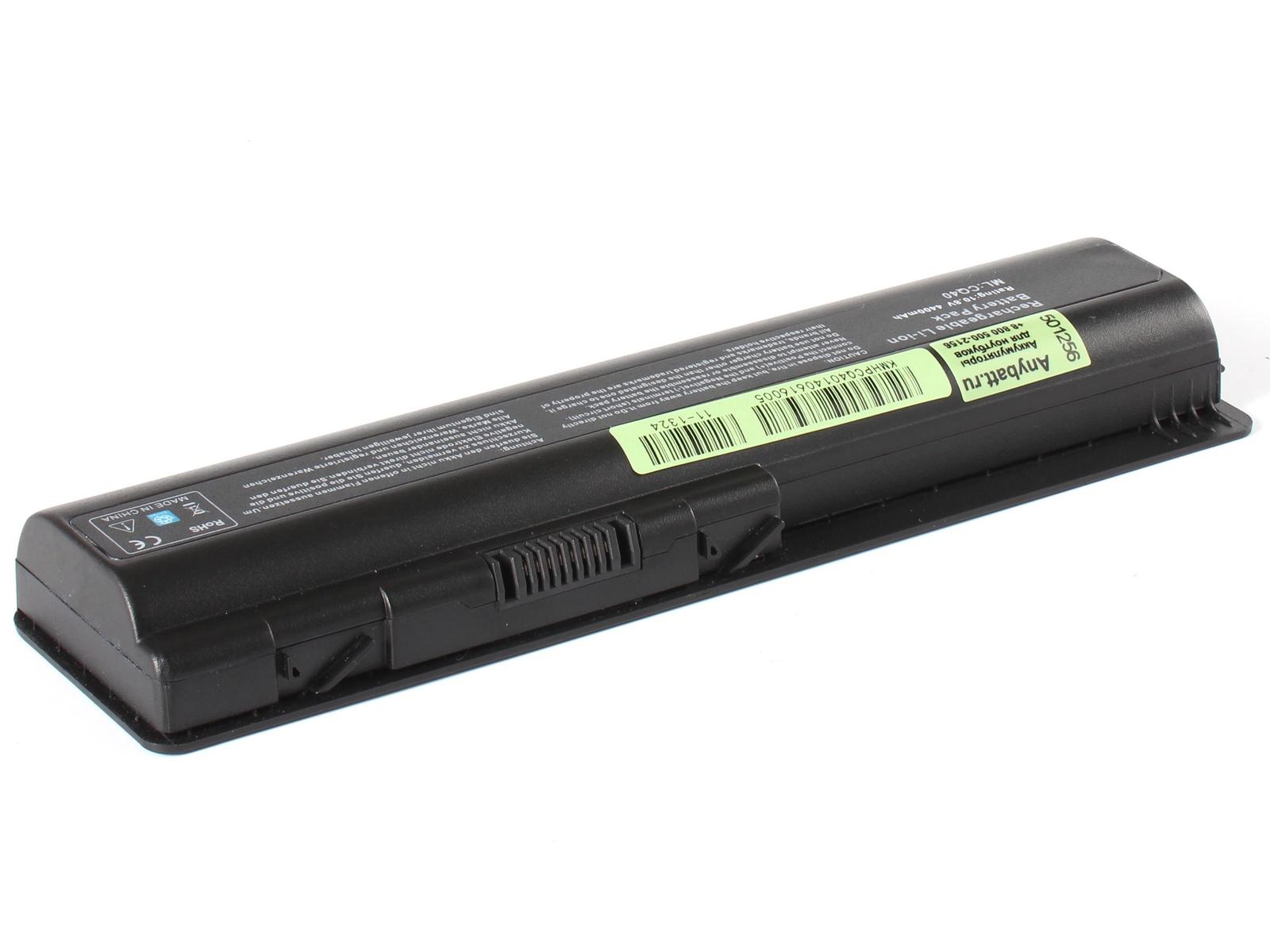Аккумулятор для ноутбука AnyBatt для HP-Compaq Presario CQ61-318ER, Presario CQ61-321ER, Presario CQ61-317ER, Presario CQ61-425ER, Pavilion dv5-1120er, Pavilion dv5-1199er, Pavilion dv5-1177er, Pavilion dv6-2130er