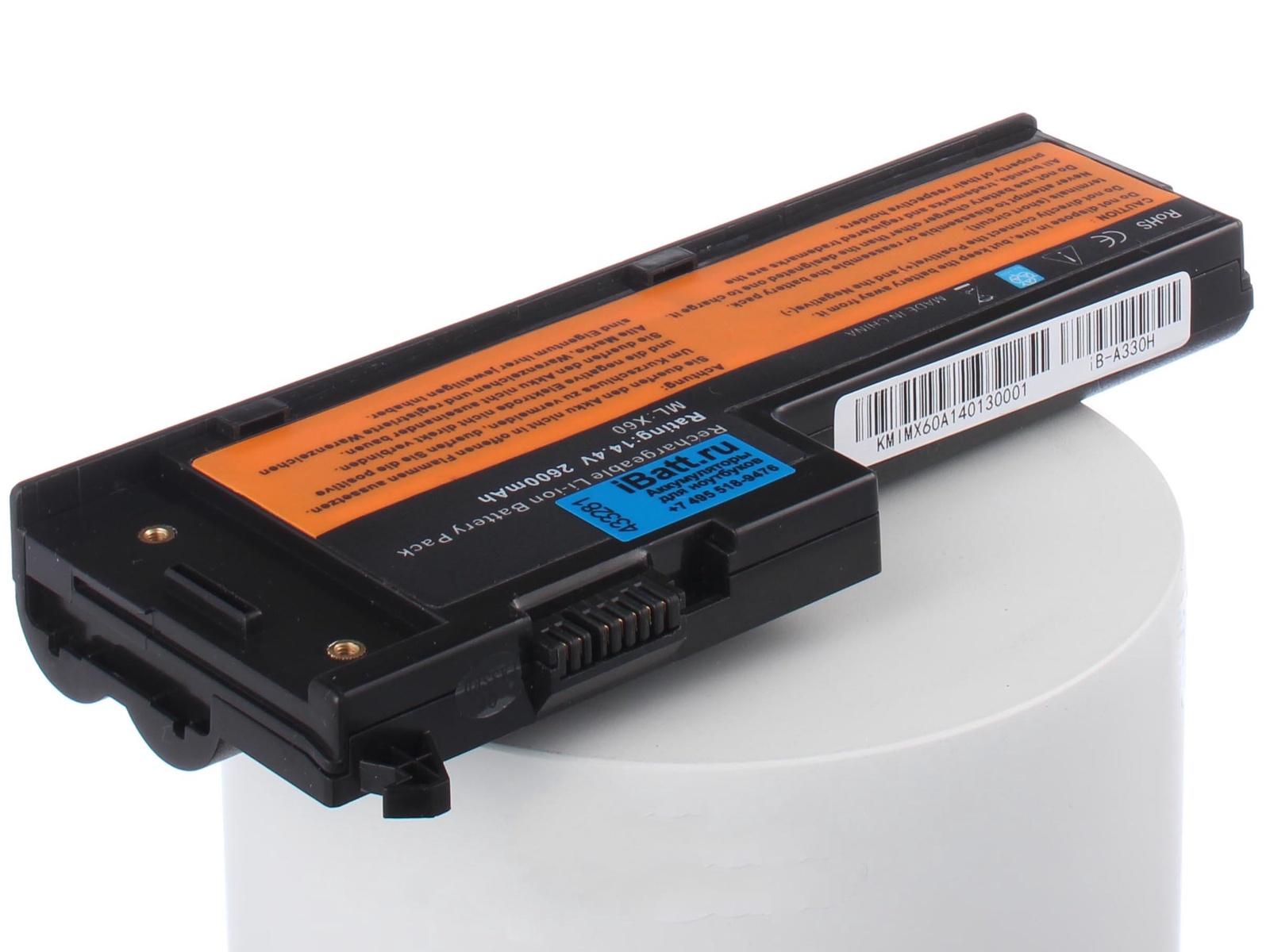 Фото - Аккумулятор для ноутбука iBatt iBM-Lenovo 93P5032, 92P1166, 40Y6999, 92P1163, 40Y7003, 40Y7001, 42T4505, 93P5030, 42T5247, 92P1165 аккумулятор