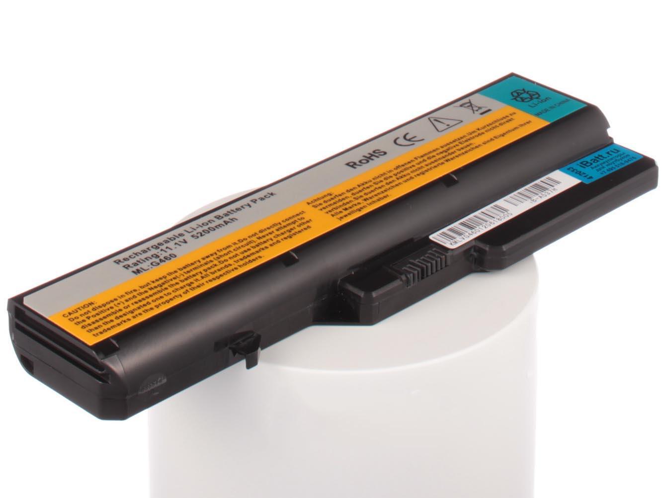 Аккумулятор для ноутбука iBatt для iBM-Lenovo G570, B570e, G780, G560, G565, G575, B570, G770, IdeaPad Z570, B575, B575e, G460, G470, IdeaPad Z565, G475, IdeaPad Z575, IdeaPad Z560, B475, B470, IdeaPad Z470, G465, IdeaPad Z370 аккумуляторная батарея topon top g460 4800мач для ноутбуков lenovo g460 g4704 g560 g565 g570 g575 g770 z370 z460 z465 z560 z565 z570 z575 b570 b575 v570