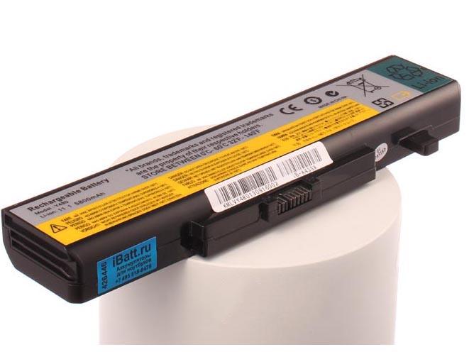 Аккумулятор для ноутбука iBatt для iBM-Lenovo IdeaPad G710, Thinkpad Edge E545, G500s Touch, IdeaPad G700, G485, IdeaPad G510, IdeaPad Z480, IdeaPad B5400, IdeaPad Z380, IdeaPad Z380, IdeaPad G585, IdeaPad G580 59401560