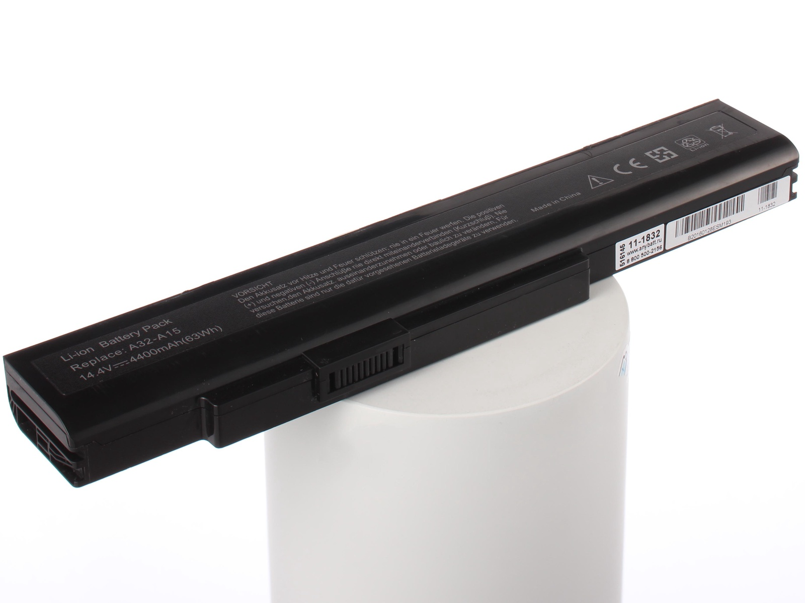 Аккумулятор для ноутбука AnyBatt MSI A32-A15, A42-A15, A41-A15, CS-MD9776NB, A42-H36, iB-A832, 11-1832, FMVNB218, iB-A1420, iB-A1420H, iB-A832H 1000pcs transistor mpsa 42 mpsa42 a42 mps a42 to 92