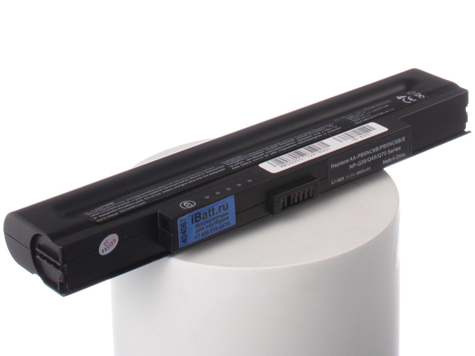 Аккумулятор для ноутбука iBatt Samsung AA-PB5NC6B скачать драйвера для ноутбука samsung