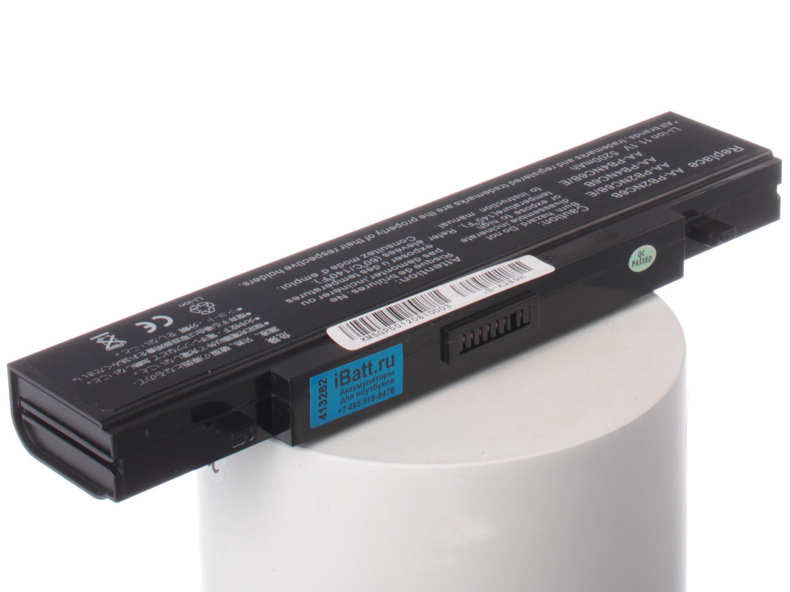 Аккумулятор для ноутбука iBatt Samsung AA-PB4NC6B, AA-PB2NC6B, AA-PL2NC9B, AA-PB2NC3B, AA-PB6NC6B