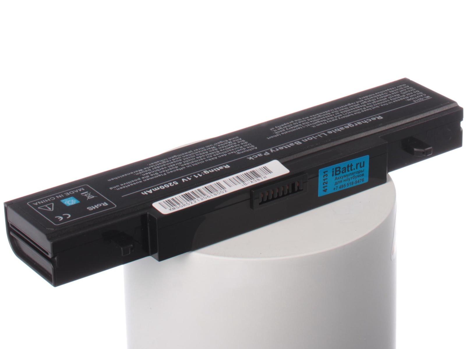 Аккумулятор для ноутбука iBatt для Samsung 300V5A-S0X, 350E5C-S0A, NP-R509, 300E5C-A01, 300E5C-U06, 300V5A-S16, NP-RV410, RV513-A01, 355V5C-S0E, 355E5C-A04, 300E5C-U02, RV520-S04, 300E5Z-S04, 300V5A-S1B, RC730-S01, 300V4A-A05 аккумулятор для ноутбука anybatt для samsung 300v5a s05 300v5a s0j 300v5a s0s 300v5a s0t 300v5a s0v 305v5a s0b 310e5c a01 350e5c s0e 350e7c s0a 350v5c s0z 355v5c s0l ativ book 2 270e4e np r39 np r39 plus np r408