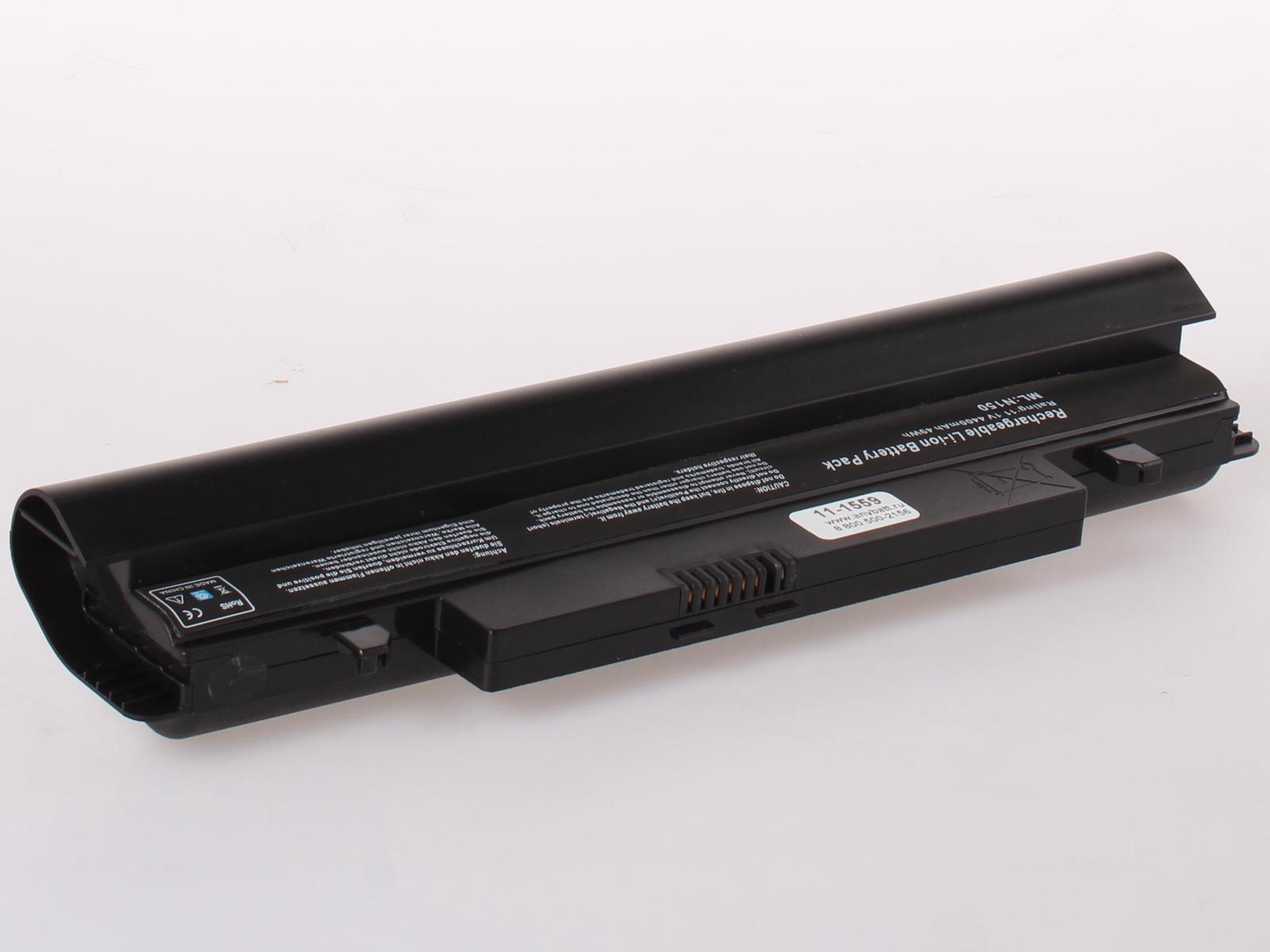 Аккумулятор для ноутбука AnyBatt для Samsung N150, N100, N150 Plus, N145, N102, NP-N150, NP-N100, N100SP, N100S, NP-N145, N148, N143, NP-N350, N100-MA02, N102-JA02, N145-JP01, N100-MA01, N100S-N06, N150-JA01, NP-N148, N150-JP01 фолио n150