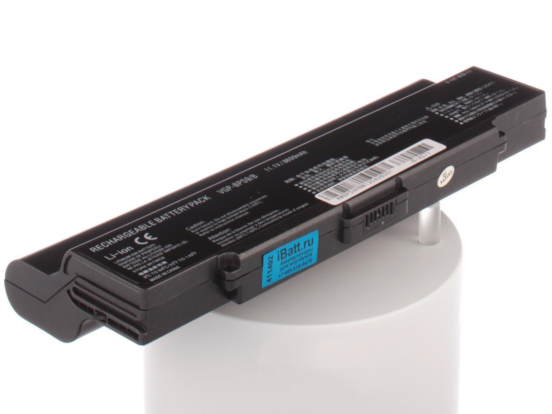 Фото - Аккумулятор для ноутбука iBatt Sony VGP-BPS9, VGP-BPS9A, VGP-BPL9 аккумулятор