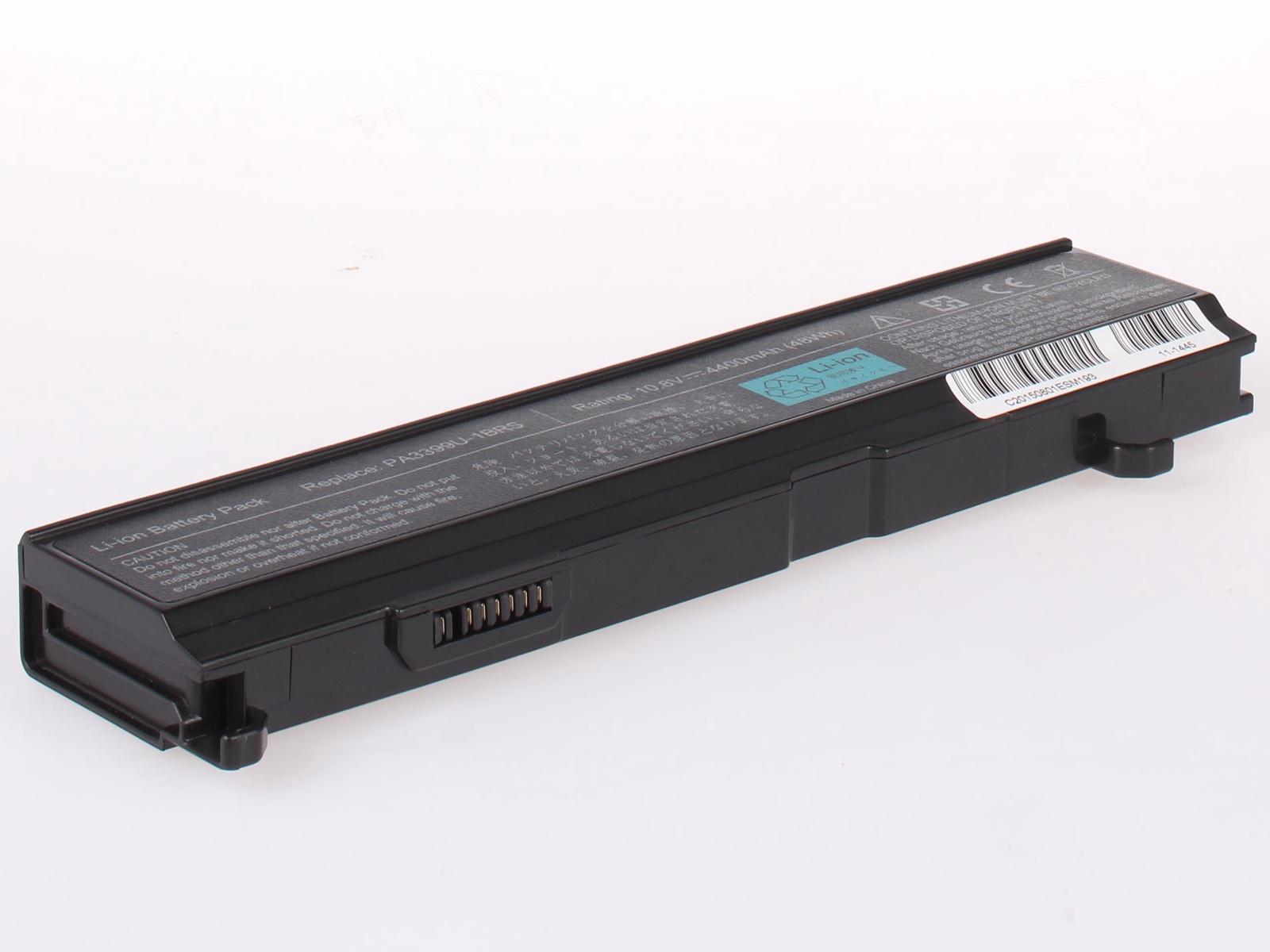 Аккумулятор для ноутбука AnyBatt для ToshiBa Equium A100-338, Satellite A120, Satellite M105-S3064, Satellite M105-S3074, Satellite M110-ST1161, Satellite M45-S269, Satellite M45-S2692, Satellite M55-S135, Tecra S2 цена