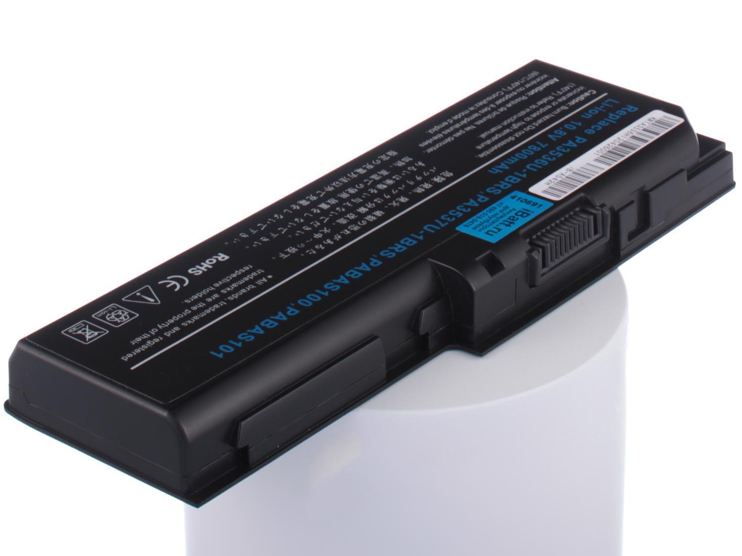 Аккумулятор для ноутбука iBatt для ToshiBa Satellite X200-251, Satellite L350-170, Satellite L350D-12Q, Satellite P200-10C, Satellite P205D-S7438, Satellite Pro P300, Satellite X200-21T, Equium P300, Satellite P200-18Y блок питания palmexx 19v 3 95a для toshiba satellite satellite pro qosmio equium libretto portege tecra dynabook dynabook ss series pa 088