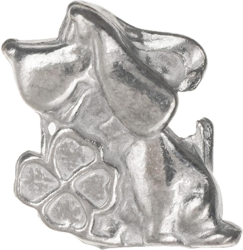 Денежный сувенир Miland Кошельковыйы дружок с клевером, Т-6946, серебристый