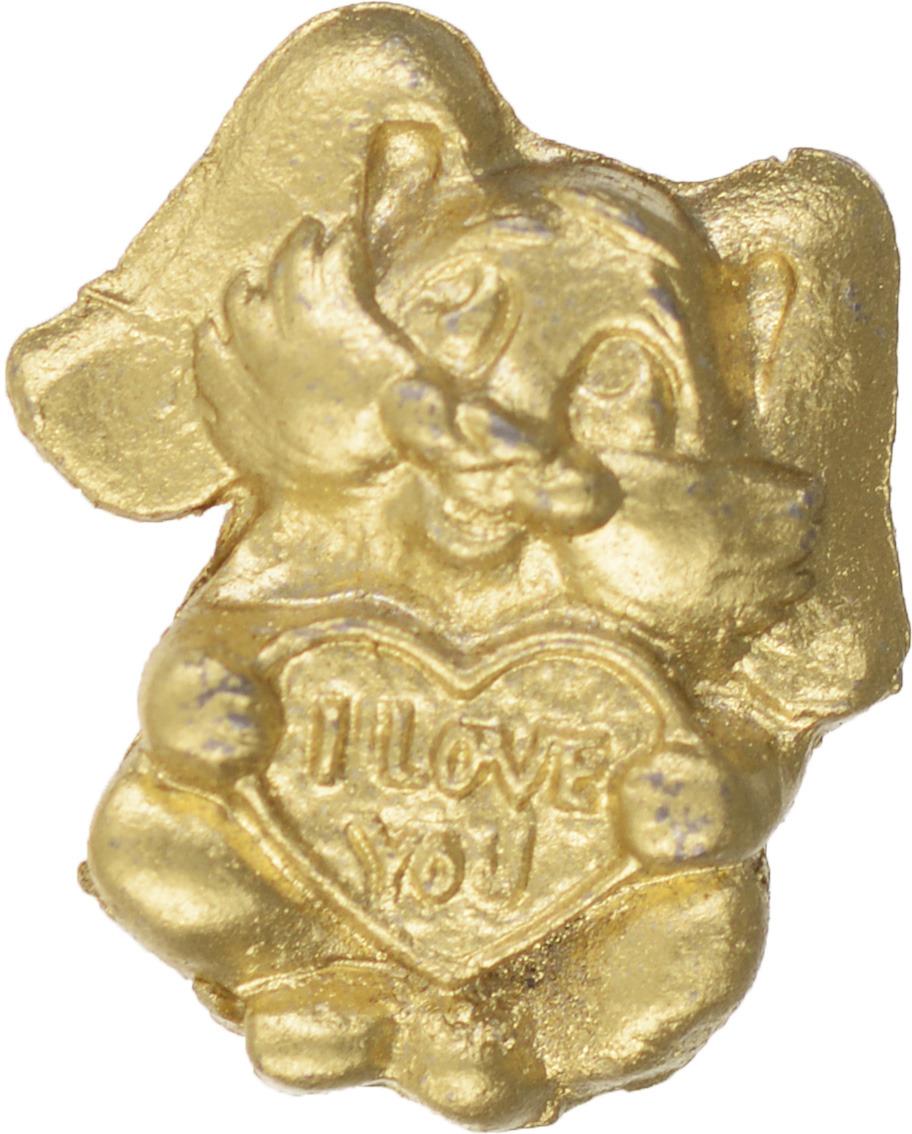 Денежный сувенир Miland Кошельковый зайка, Т-6949, золотой