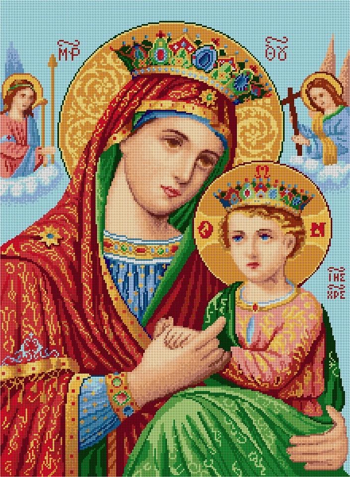 "Набор для вышивания Milena Style ""Святая богородица"" (25 х 34 см.)"