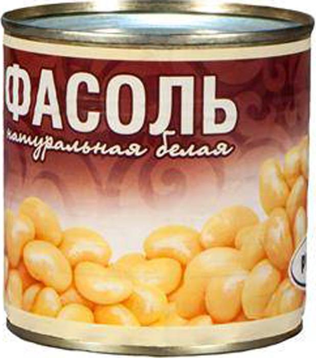 Овощные консервы Рузком Фасоль натуральная белая ГОСТ, 400 г фасоль красная натуральная фрау марта 310 г