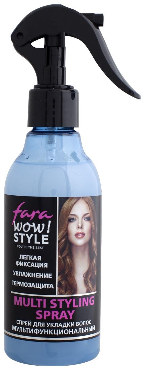 FARA WOW Styling спрей для укладки волос мультифункциональный, 200 мл
