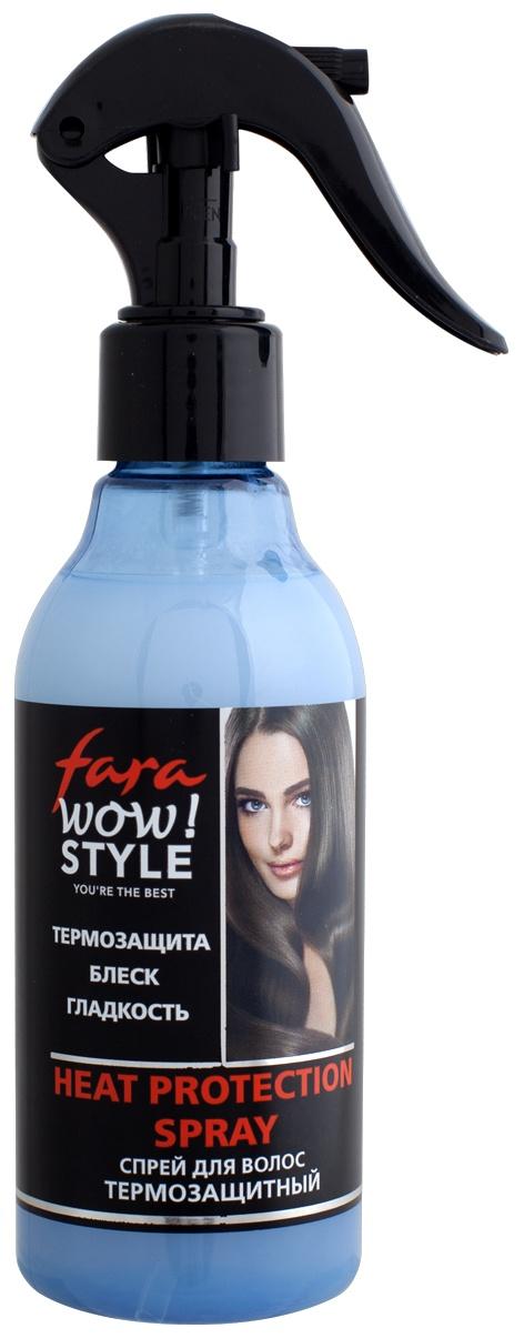 Спрей уходовый Fara Спрей для волос термозащитный, 200 мл