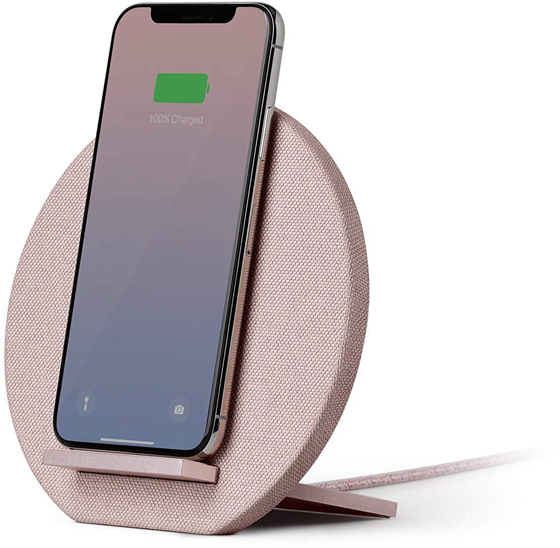 Зарядное устройство Native Union DOCK Qi с подставкой, розовый native union dock ip mb blk
