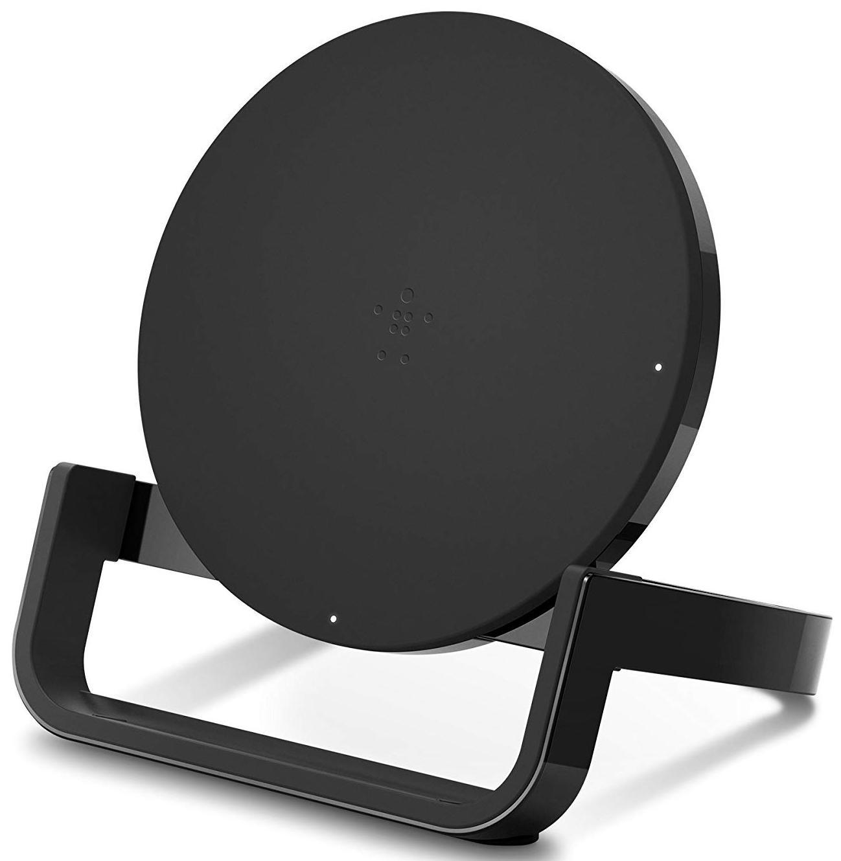 Фото - Беспроводное зарядное устройство Belkin F7U052vfBLK, черный беспроводное зарядное устройство belkin f8m747bt 5w black