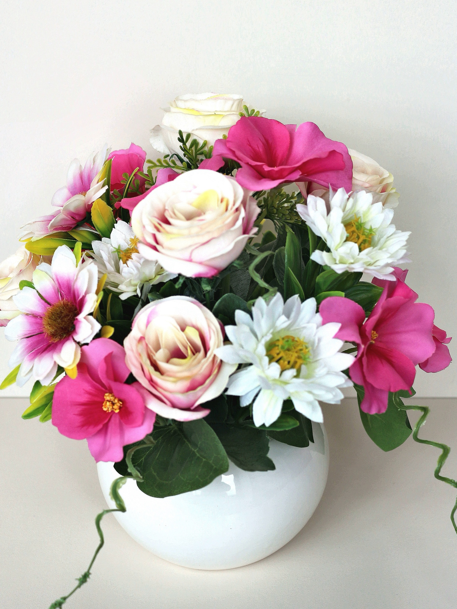 цена Искусственные цветы 403384, темно-розовый онлайн в 2017 году