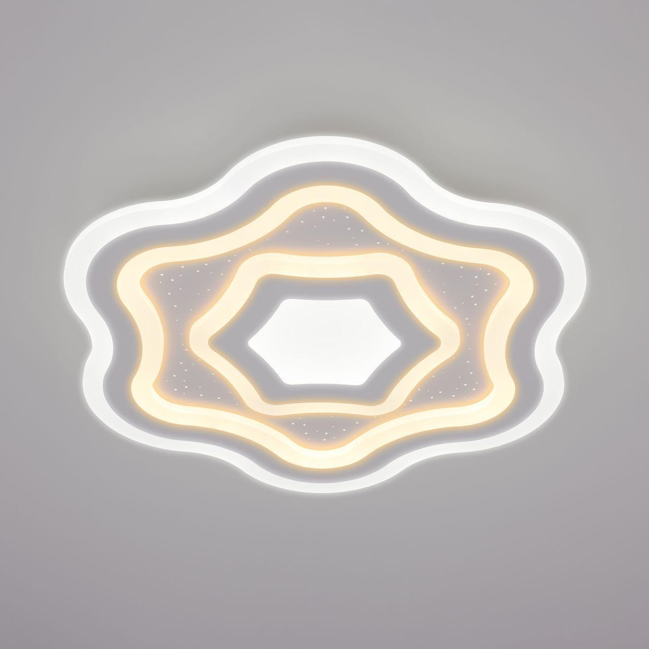 Потолочный светильник Eurosvet 90151/5 белый, белый цена
