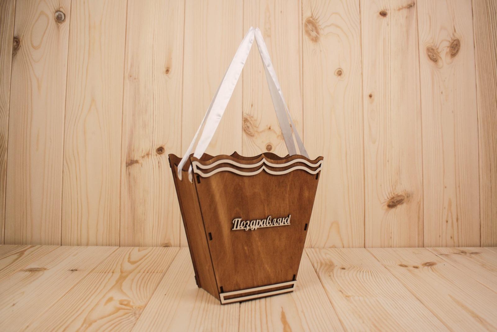 Подарочная упаковка Мастер Дизайн ПУ318023403М, коричневый подарочная упаковка мастер дизайн пу385001700 коричневый