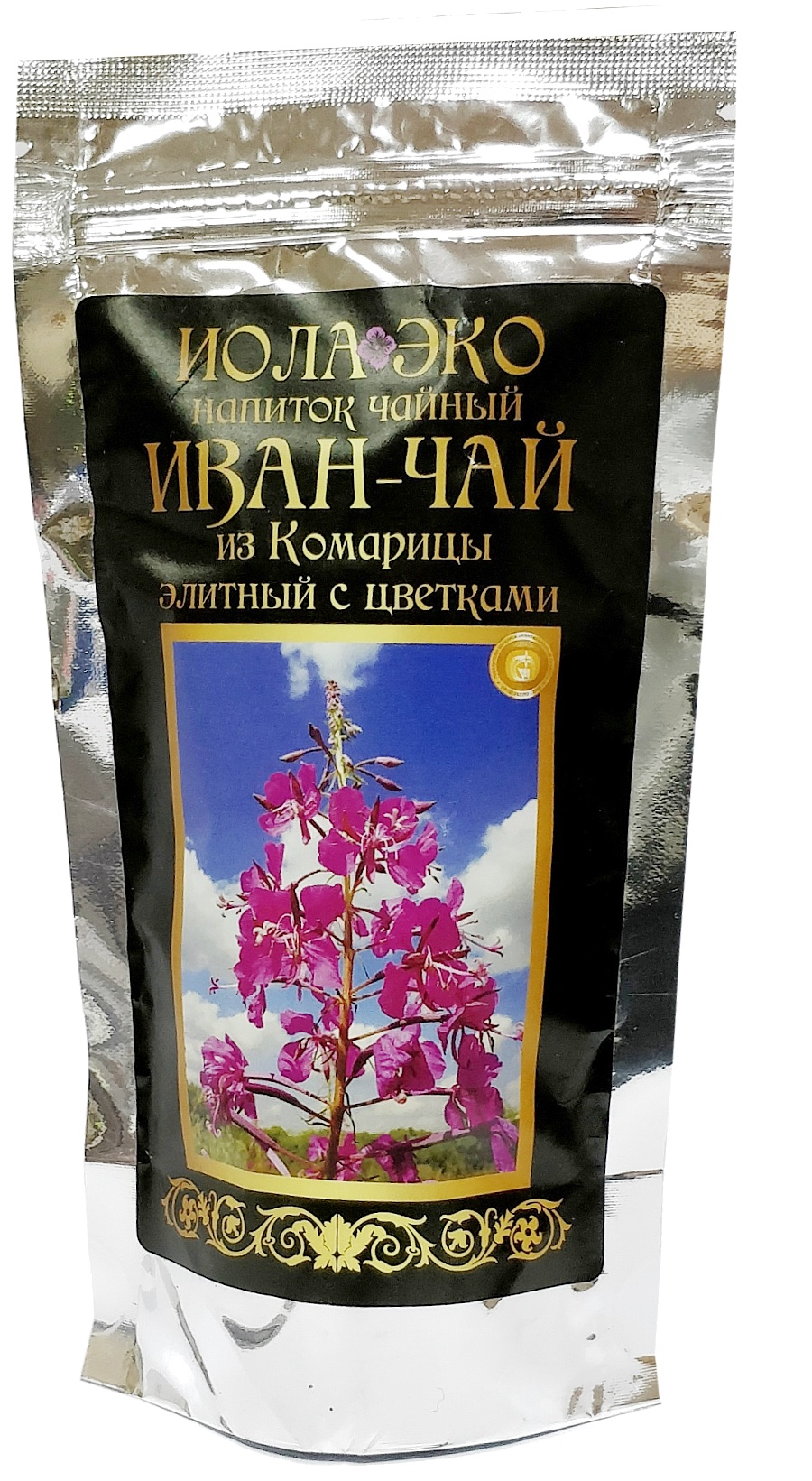 Чай листовой ферментированный Иван-чай из Комарицы Элитный, Иван-чай, 75 иван дубровин целительная магия чая