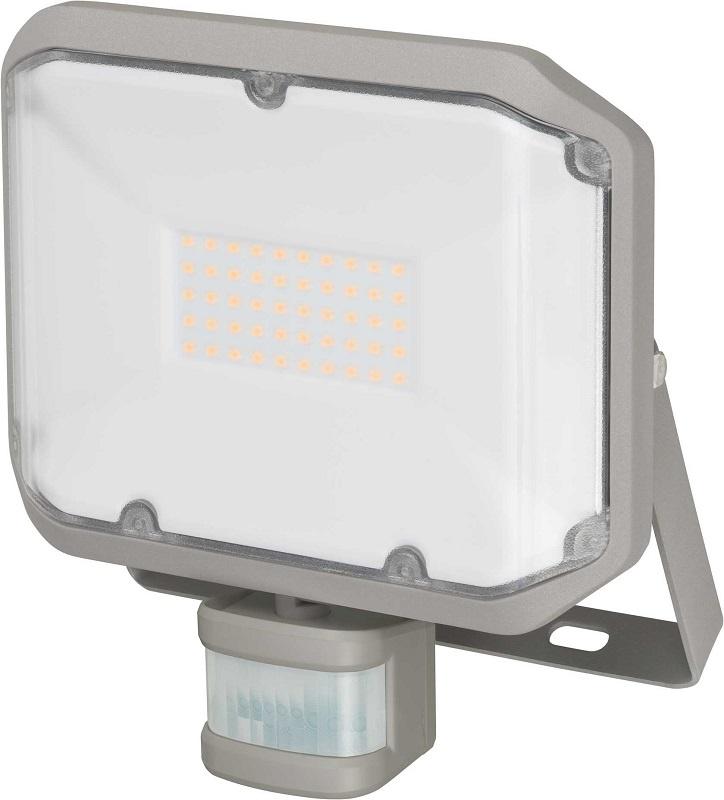 Прожектор Brennenstuhl 1178030010 c датчиком движения ALCINDA LED,настенный,30 Ватт,3050лм,IP44, серый