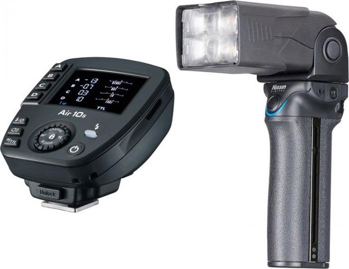 Фотовспышка Nissin i60A + синхронизатор Air 10s для Nikon i-TTL
