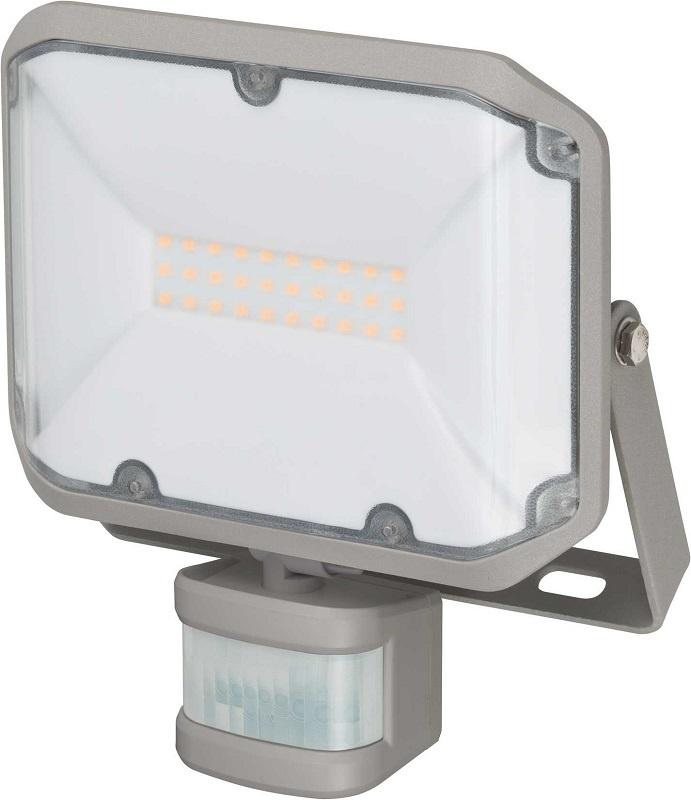 Прожектор Brennenstuhl 1178020010 c датчиком движения ALCINDA LED,настенный, 20 Ватт,2080лм,IP44, серый