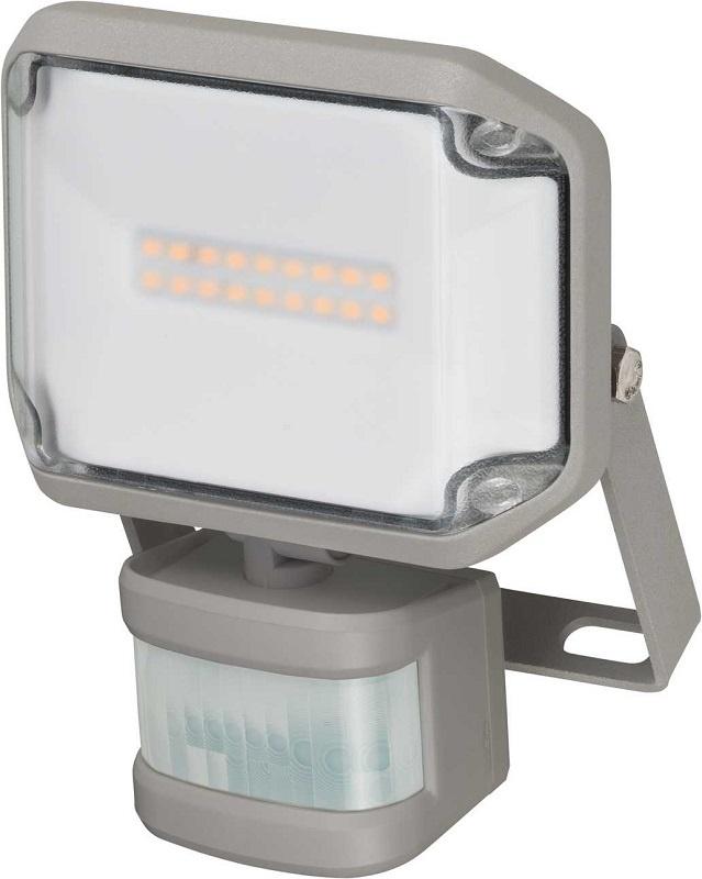 Прожектор Brennenstuhl 1178010010 c датчиком движения ALCINDA LED,настенный,10 Ватт,1060лм,IP44, серый