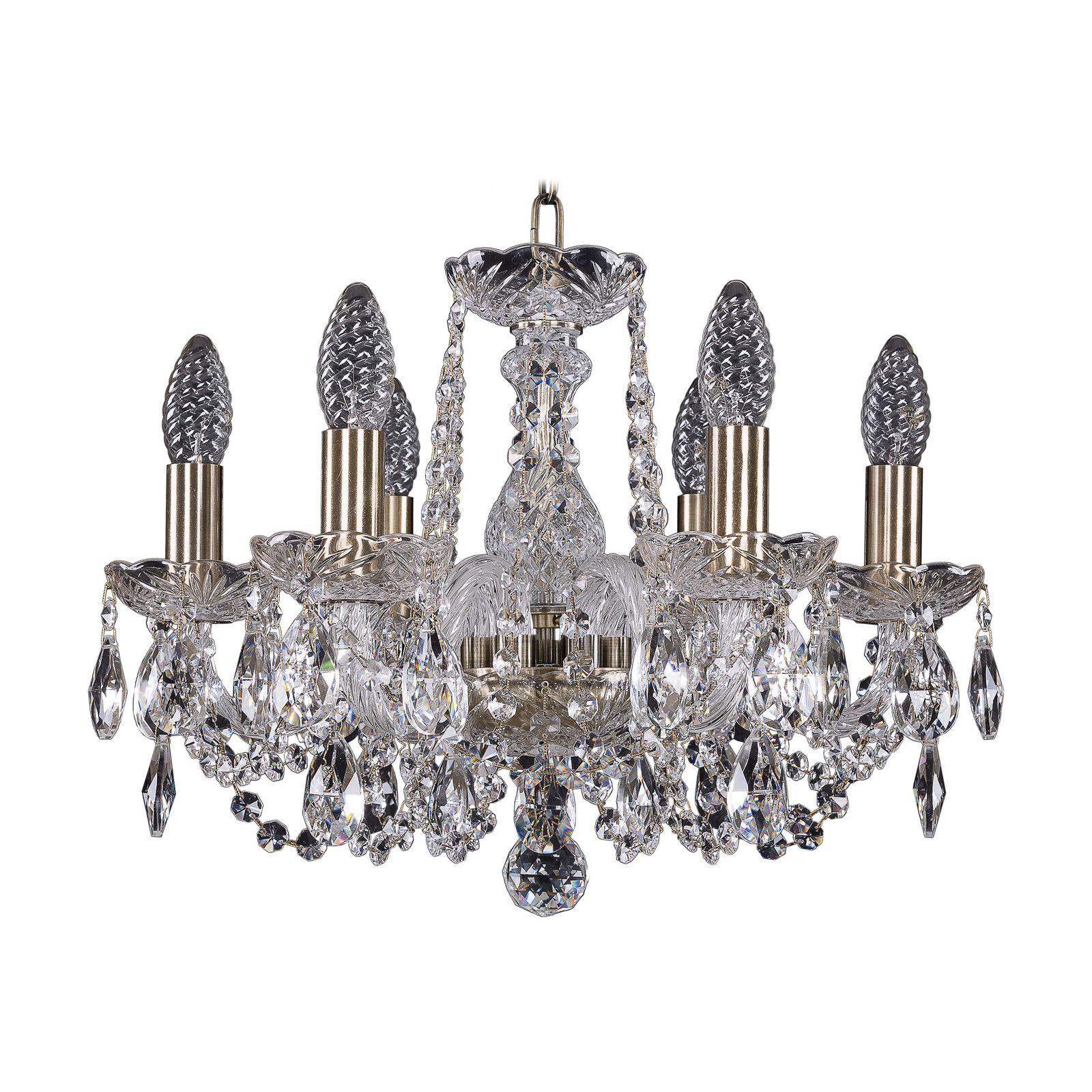 Потолочный светильник Bohemia Ivele Crystal 1402/6/141 Pa, E14, 40 Вт все цены