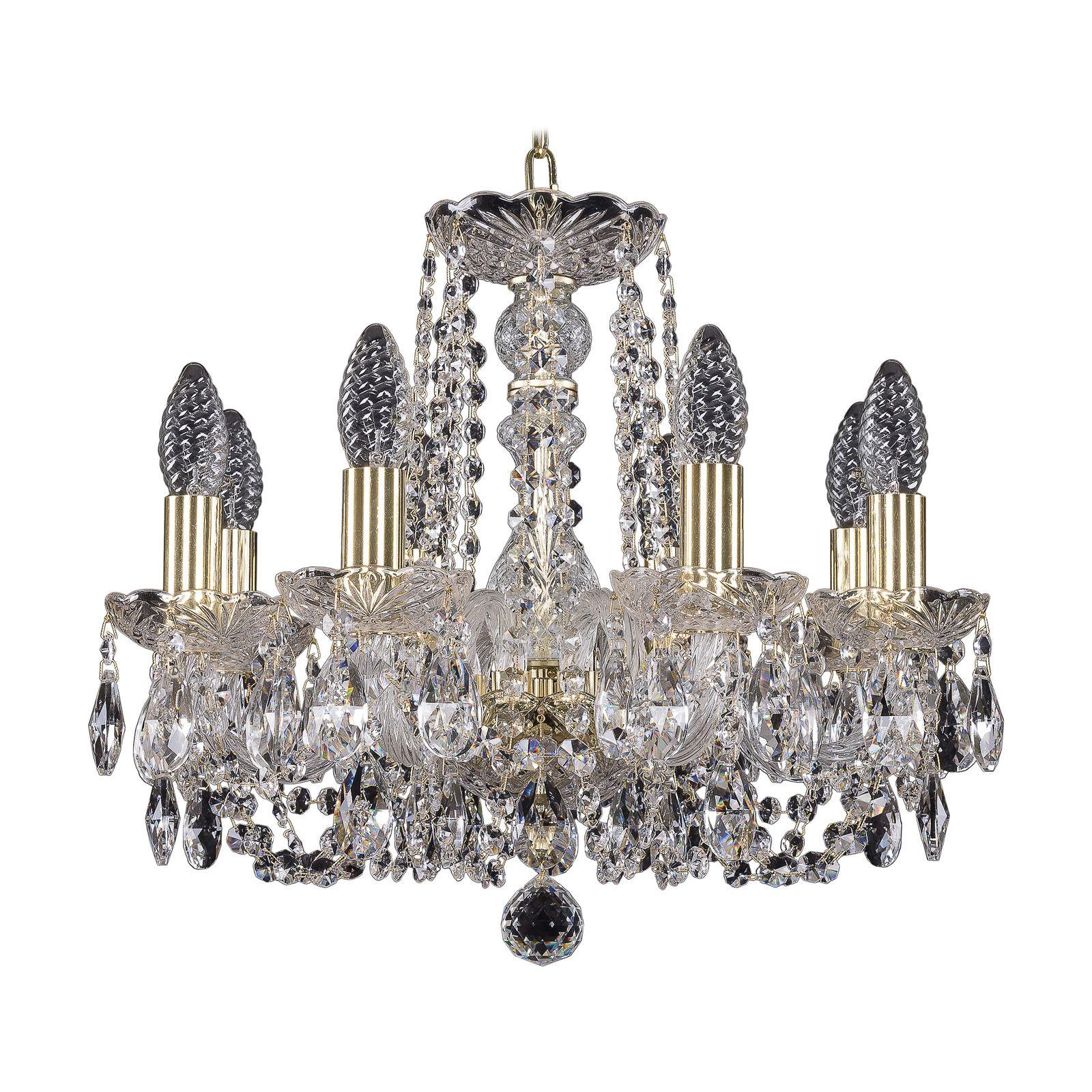 Потолочный светильник Bohemia Ivele Crystal 1402/8/141 G, E14, 40 Вт bohemia ivele crystal 1932 75z g