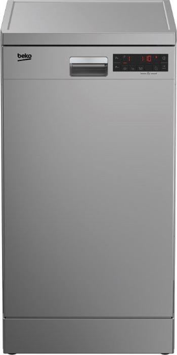 Посудомоечная машина Beko DFS 25W11 S, серебристый