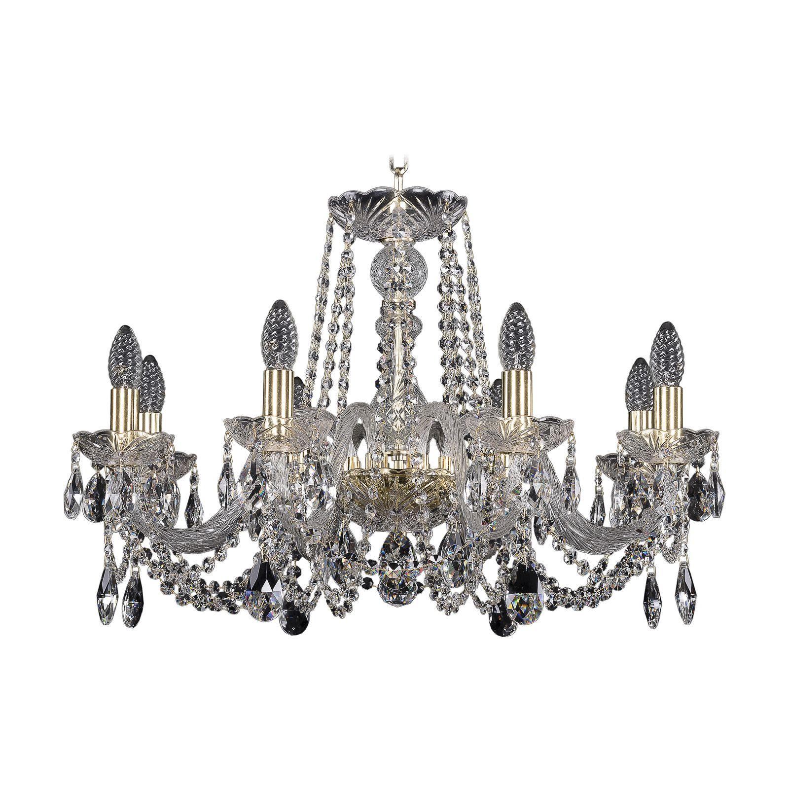 Потолочный светильник Bohemia Ivele Crystal 1402/8/240 G, E14, 40 Вт bohemia ivele crystal 1932 75z g