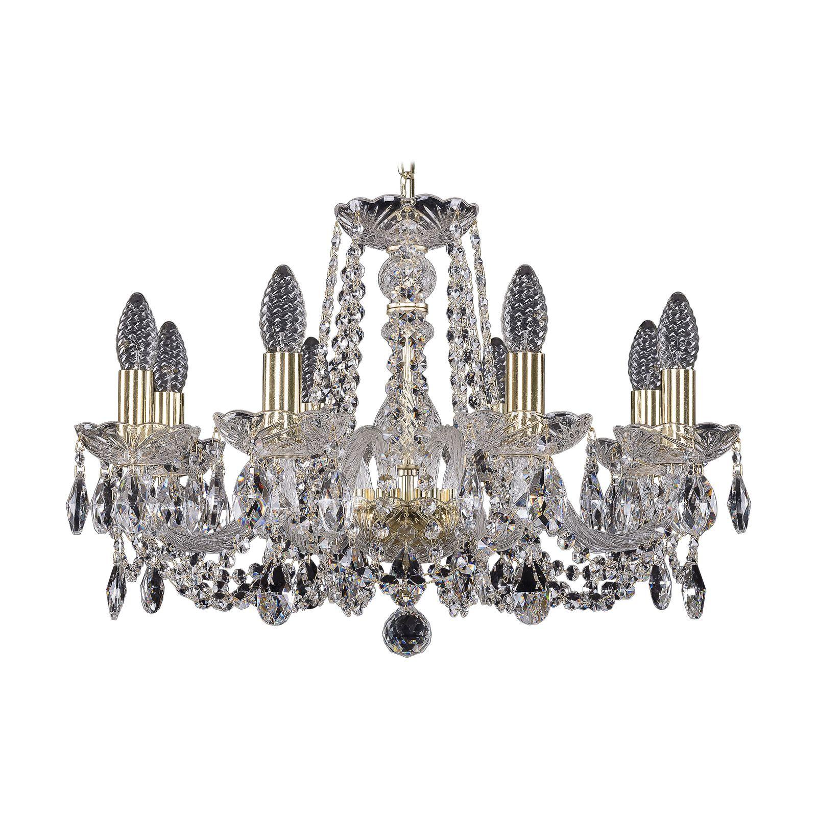 Потолочный светильник Bohemia Ivele Crystal 1402/8/195 G, E14, 40 Вт bohemia ivele crystal 1932 75z g
