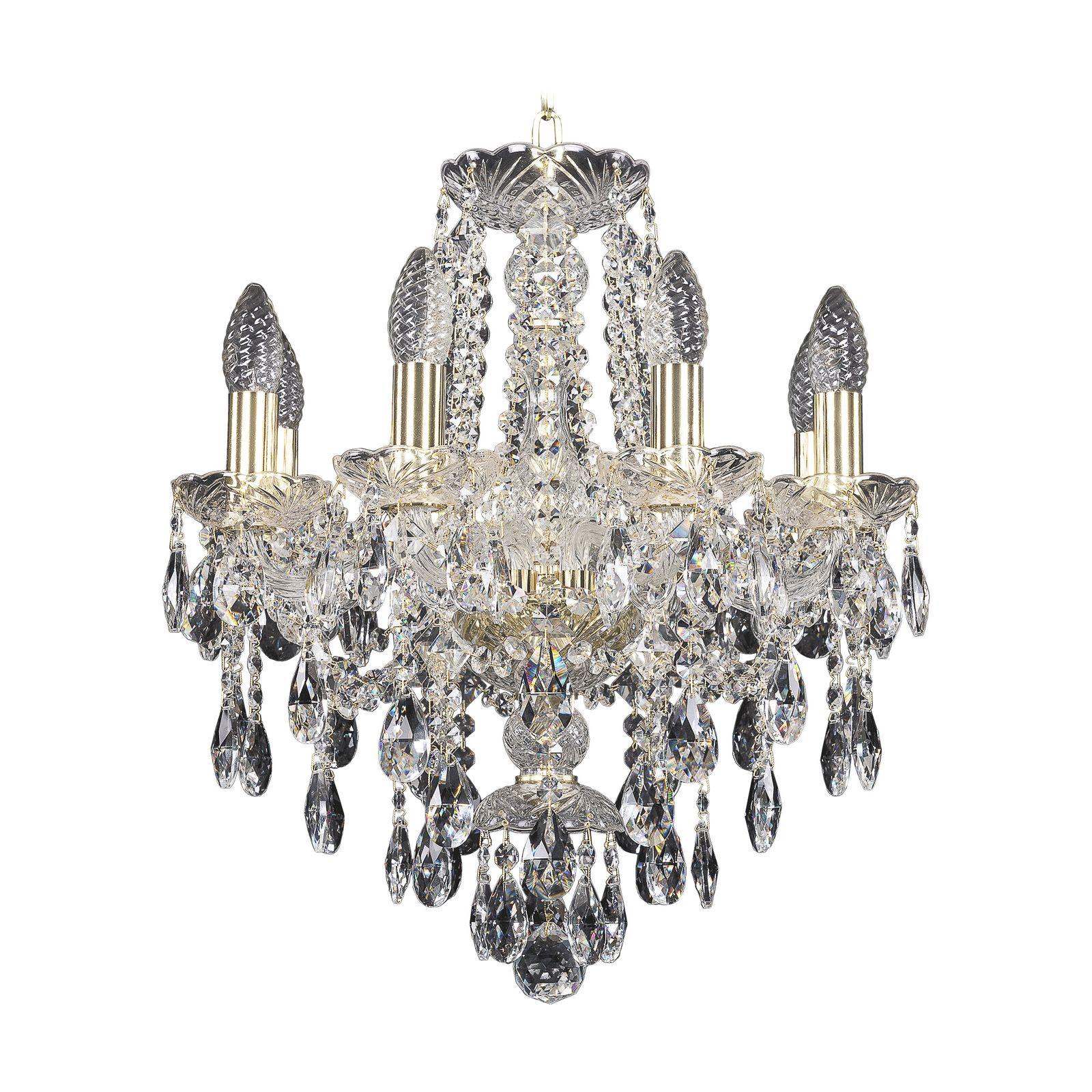 Потолочный светильник Bohemia Ivele Crystal 1415/6/200 G, E14, 40 Вт bohemia ivele crystal 1932 75z g