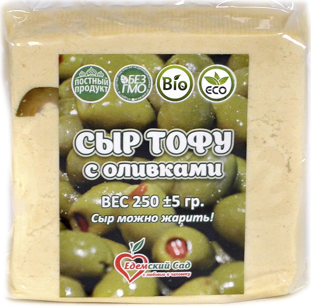 все цены на Сыр Едемский Сад Тофу с оливками, 250 г онлайн