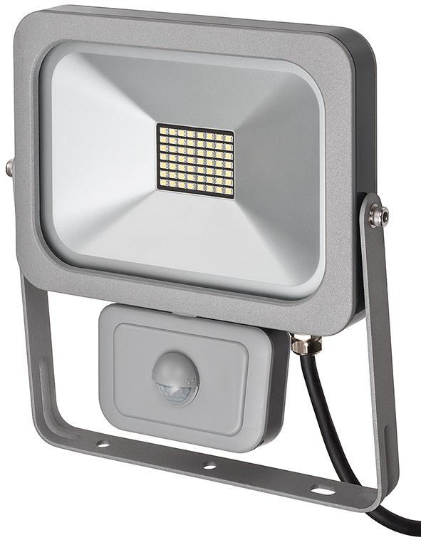 Прожектор Brennenstuhl 1172900301  LED, с датчиком движения, 30 Ватт, серый