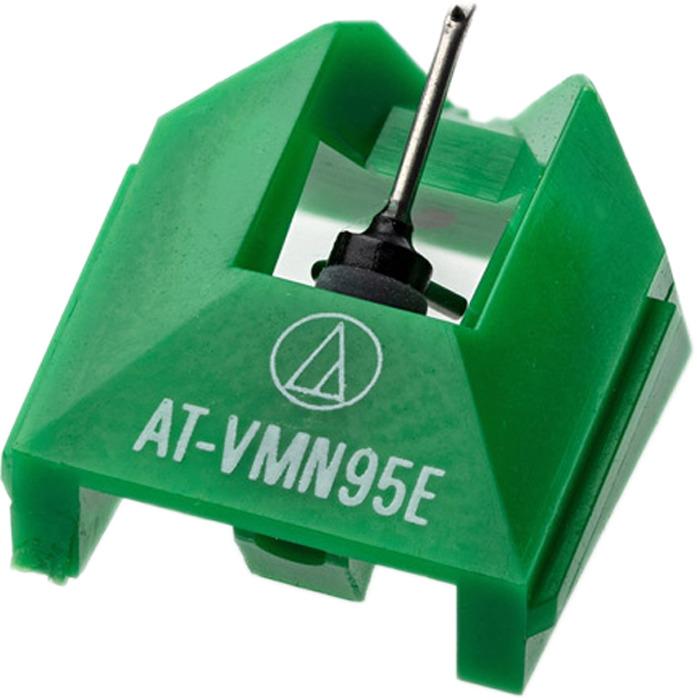 Игла для головки звукоснимателя Audio-Technica VMN95E, зеленый игла звукоснимателя audio technica atn3600 l