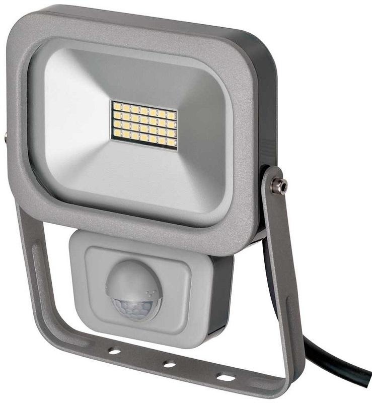 Прожектор Brennenstuhl 1172900101  LED, с датчиком движения, 10 Ватт, серый