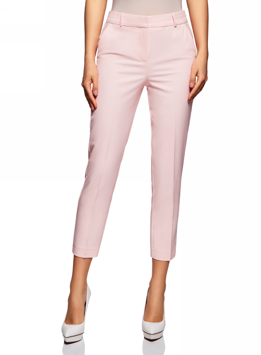 Брюки oodji Ultra брюки женские oodji ultra цвет светло розовый 11701024 14527 4000n размер 42 164 48 164