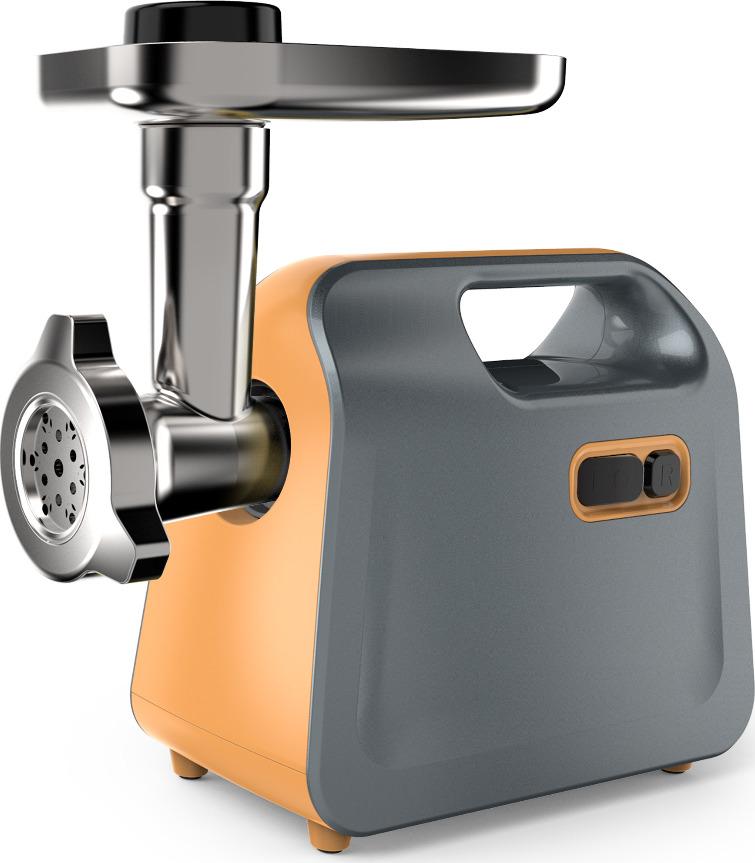 Мясорубка электрическая Midea MG-2777, оранжевый, серый