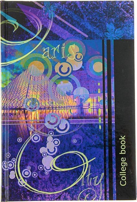 Тетрадь Бриз College Book, в клетку, 1111-413, синий, A5, 160 листов триумф колледж тетрадь coffee break 160 листов в клетку