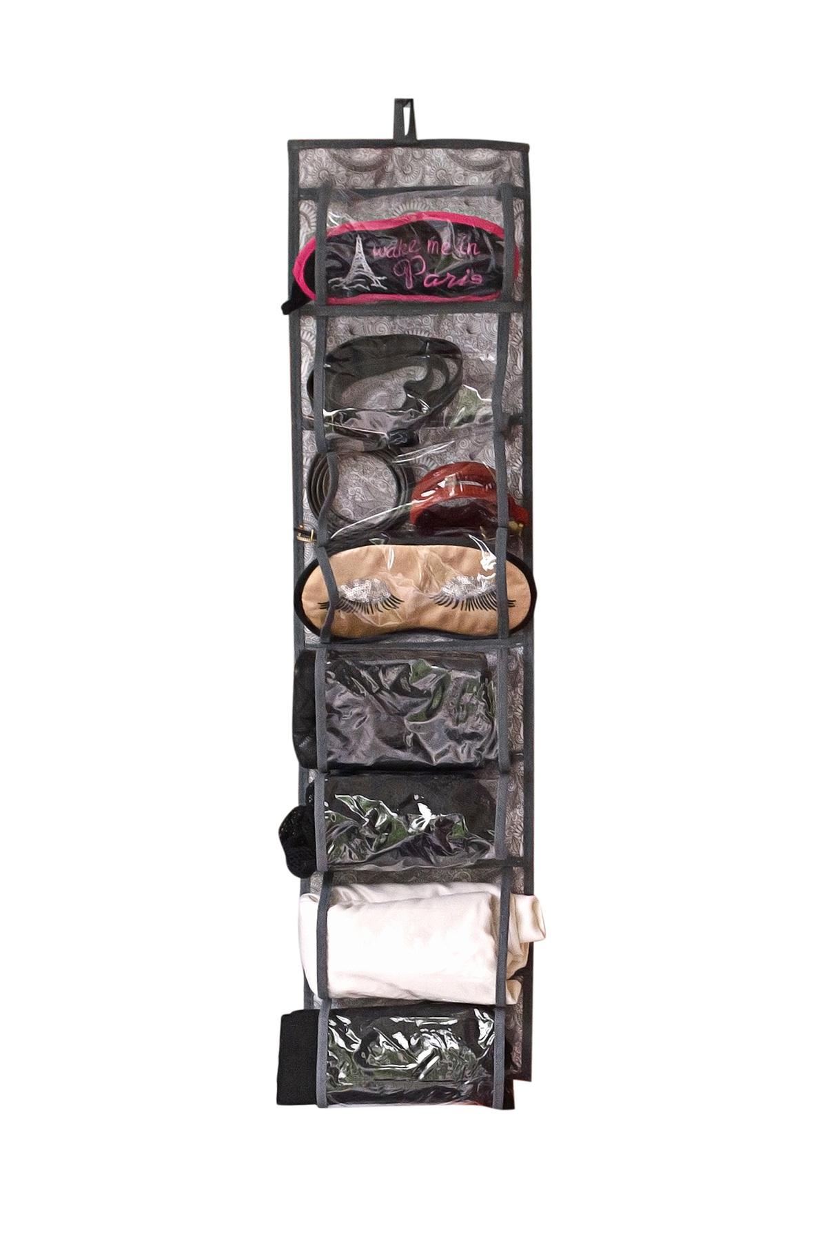 Органайзер для вещей Homsu HOM-1092, серый органайзер для хранения шарфов и мелочей homsu bora bora подвесной 20 х 80 см