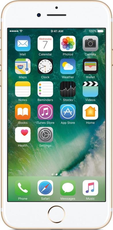 Смартфон Apple iPhone 7 2/128GB, золотой
